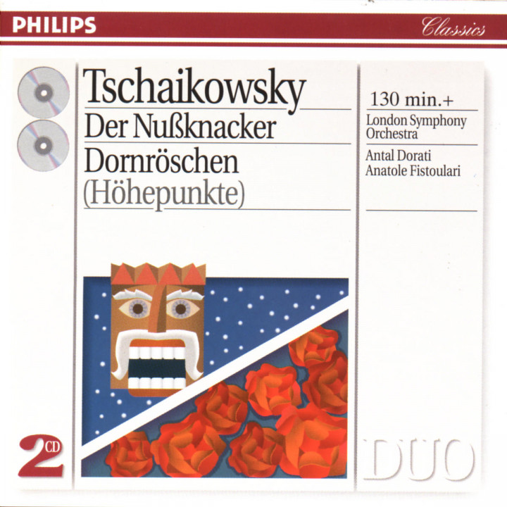 Tchaikovsky: The Nutcracker; The Sleeping Beauty - highlights 0028944256228