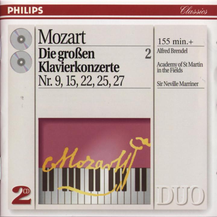 Mozart: The Great Piano Concertos Nos. 9, 15, 22, 25 & 27 0028944257126