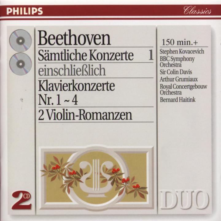 Beethoven: Complete Concertos Vol.1 - Piano Concertos Nos.1 - 4 etc. 0028944257724