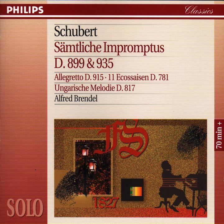 Schubert: Complete Impromptus, D899 & D935; 11 Ecossaises, &c 0028944254329