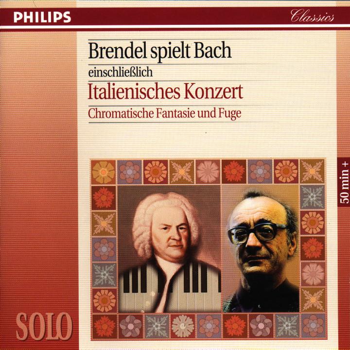 Brendel Plays Bach including The Italian Concerto & Chromatic Fantasy 0028944240023