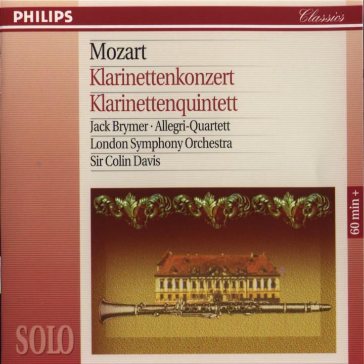 Mozart: Clarinet Concerto / Clarinet Quintet 0028944239029