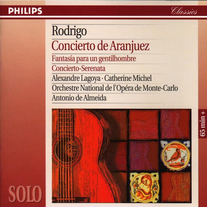 Rodrigo: Concierto de Aranjuez; Fantasía para un gentilhombre; Concierto serenata 0028944239225