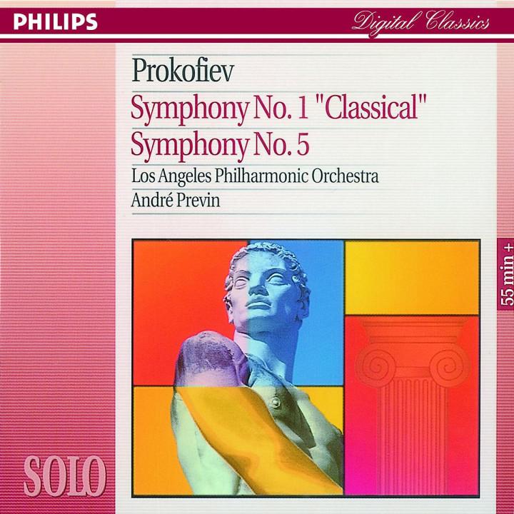 """Sinfonien Nr. 1 D-dur op. 25 """"Klassische"""" & Nr. 5 B-dur op. 100 0028944239926"""