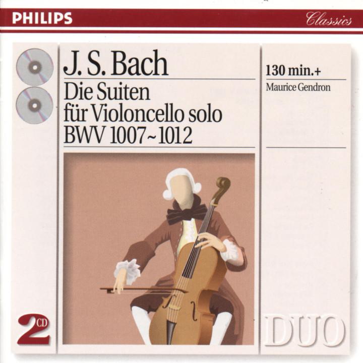 Bach, J.S.: The 6 Cello Suites 0028944229325