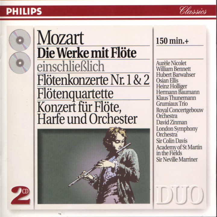 Mozart: The Works for Flute 0028944229923