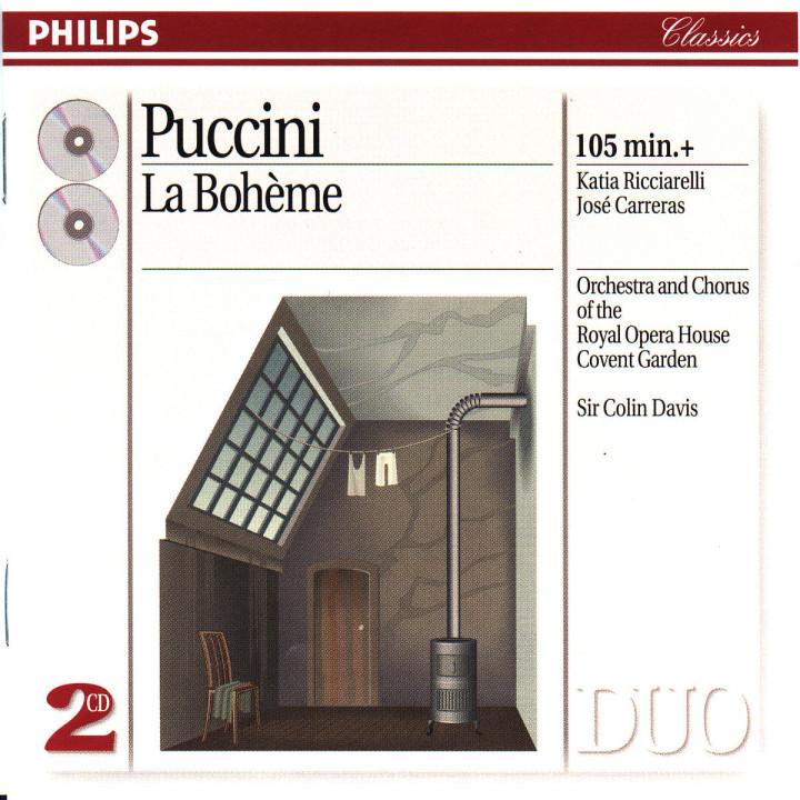 Puccini: La Bohème 0028944226023