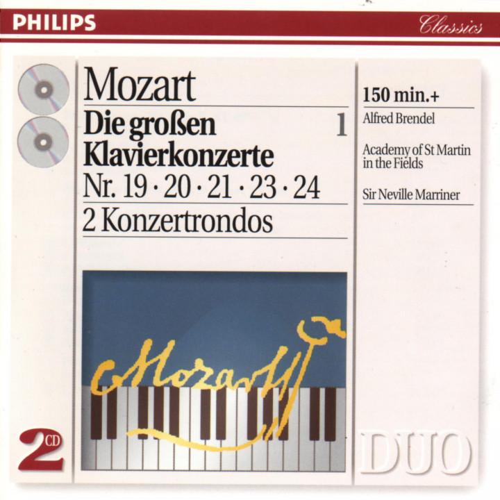 Mozart: The Great Piano Concertos, Vol.1 0028944226920