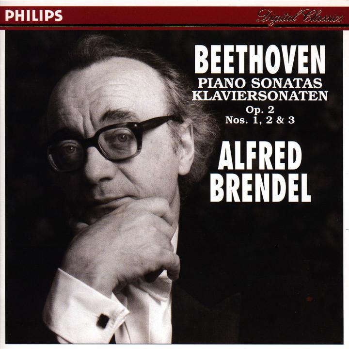 Beethoven: Piano Sonatas, Op.2 Nos.1-3 0028944212428