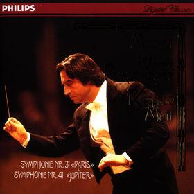 Wolfgang Amadeus Mozart, Sinfonien Nr. 31 D-dur KV 297 Pariser; Nr. 41 C-dur KV 551 Jupiter, 00028944212624
