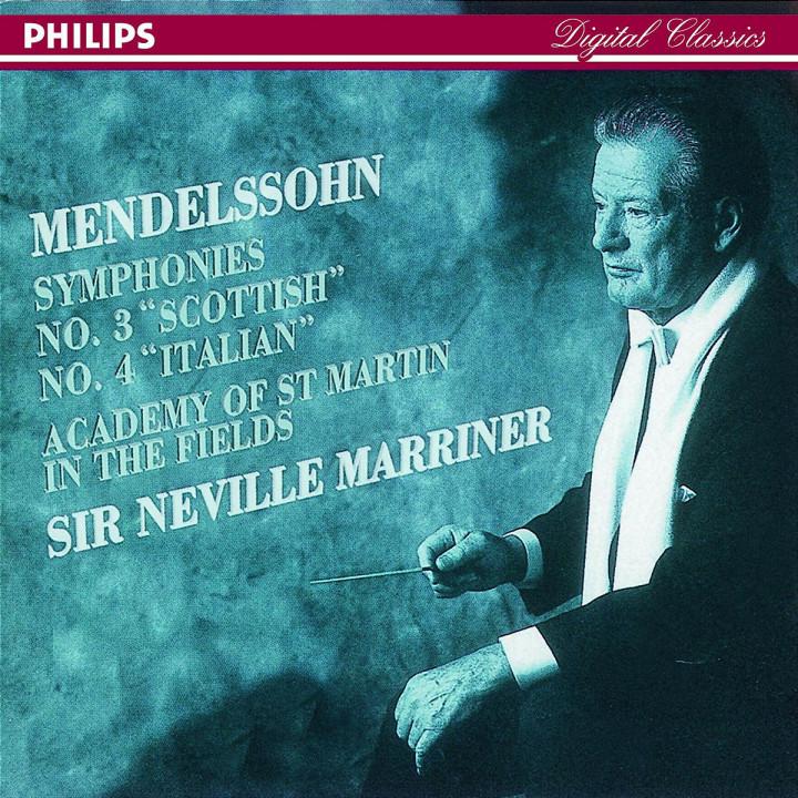 """Sinfonien Nr. 3 a-moll op. 56 """"Schottische"""" & Nr. 4 A-dur op. 90 """"Italienische"""" 0028944213027"""