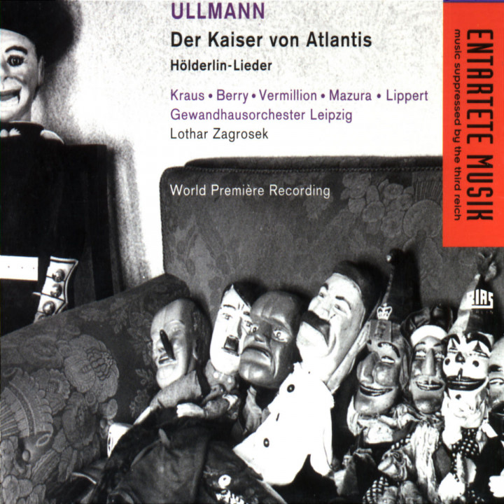 Ullmann: Der Kaiser von Atlantis/Hölderlin-Lieder 0028944085420