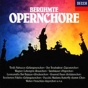 Carl Maria von Weber, Berühmte Opernchöre, 00028944092226