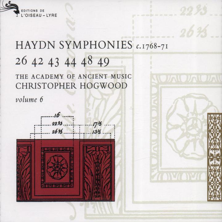 Haydn: Symphonies Vol. 6 0028944022223