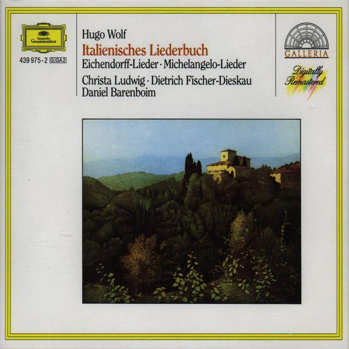 Italienisches Liederbuch; Eichendorff-Lieder 0028943997524
