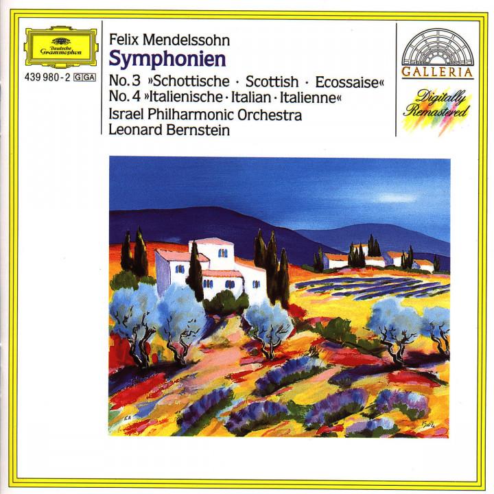 "Mendelssohn: Symphonies Nos.3 ""Scottish"" & 4 ""Italian"" 0028943998020"