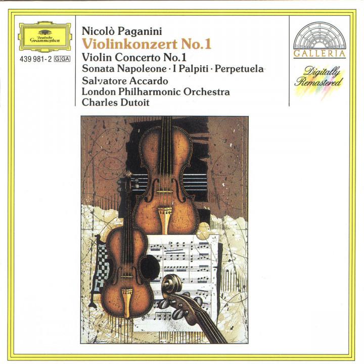 Paganini: Violin Concerto No. 1 · Sonata Napoleone · I Palpiti · Perpetuela 0028943998123