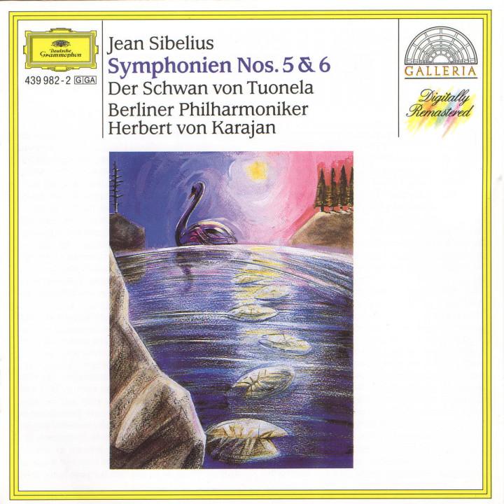 Sinfonien Nr. 5 Es-dur & Nr. 6 d-moll; Der Schwan von Tuonela 0028943998226