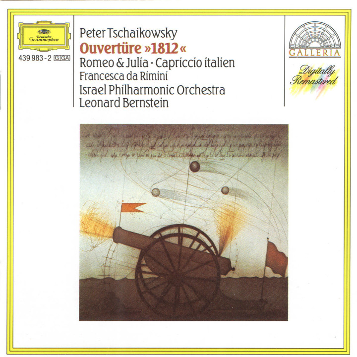 "Tchaikovsky: Overture ""1812""; Romeo and Juliet; Capriccio italien 0028943998329"