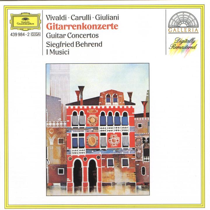 Vivaldi / Carulli / Giuliani: Guitar Concertos 0028943998422