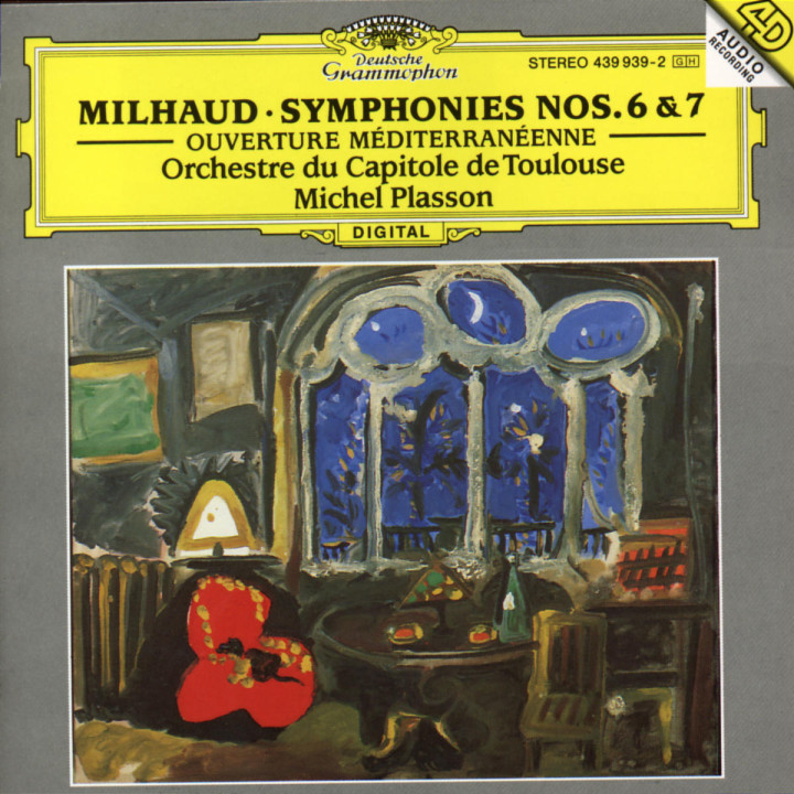 Sinfonien Nr. 6 op. 76; Nr. 7; Ouverture méditerranéenne 0028943993922