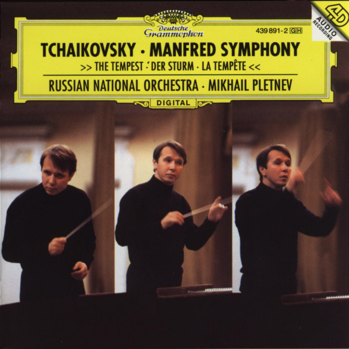 Tchaikovsky: Manfred Symphony; The Tempest 0028943989121